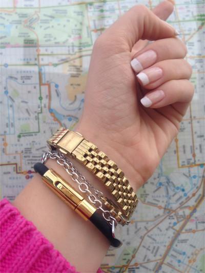 Energie Armband Stockholm Gold