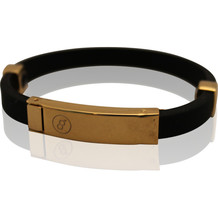 Magnet energie Armband Milano Gold